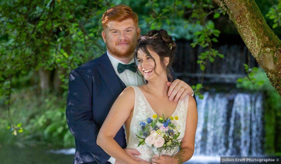 Le mariage de Sébastien et Aude à Bohars, Finistère