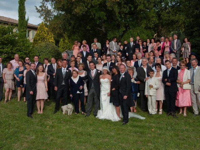 Le mariage de Yann et Audrey à Chamaret, Drôme 69