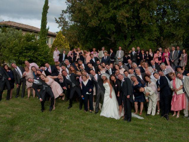 Le mariage de Yann et Audrey à Chamaret, Drôme 71