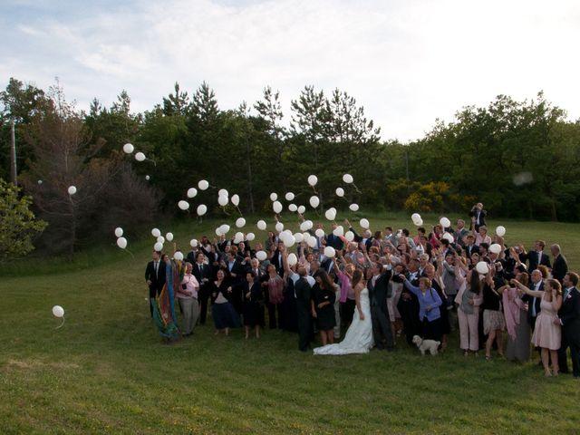 Le mariage de Yann et Audrey à Chamaret, Drôme 80