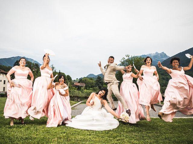 Le mariage de Jimmy et Vanny à Annemasse, Haute-Savoie 46