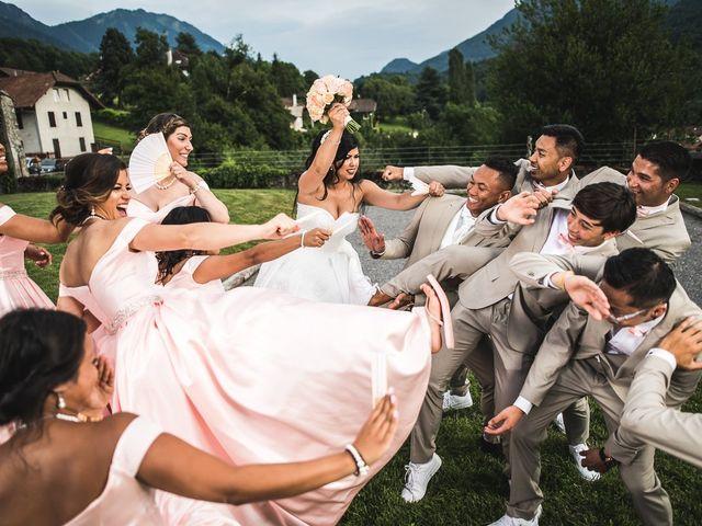 Le mariage de Jimmy et Vanny à Annemasse, Haute-Savoie 48