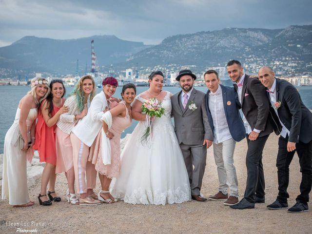 Le mariage de Geoffrey  et Jessica  à Toulon, Var 15