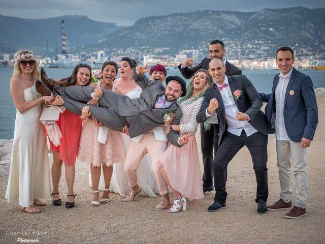 Le mariage de Geoffrey  et Jessica  à Toulon, Var 16