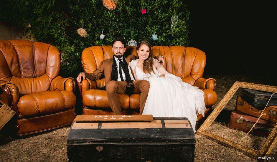 Le mariage de Florian et Maude à Saint-Cyr-sur-Mer, Var