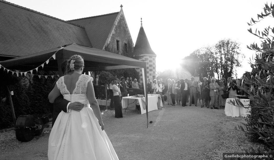 Le mariage de Richard et Marie Charlotte à Amboise, Indre-et-Loire