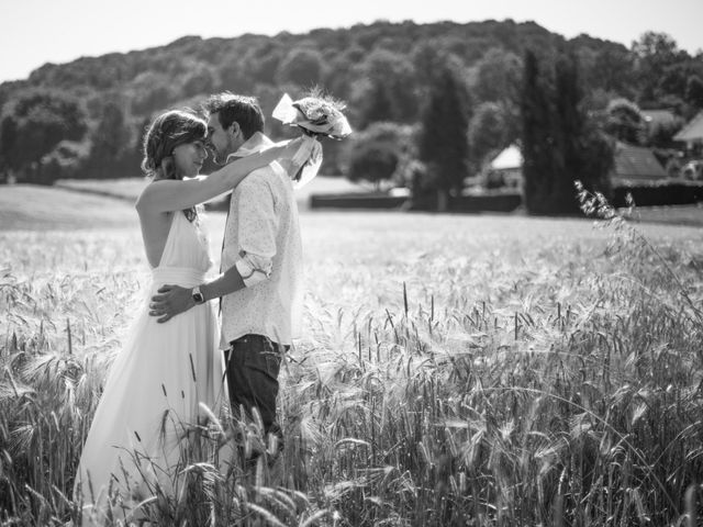 Le mariage de Geoffroy et Béatrice à Chalezeule, Doubs 1