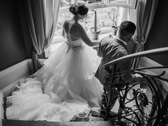 Le mariage de Valentin et Laura à Morestel, Isère 1