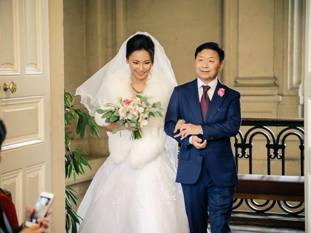 Le mariage de Thomas et Yifei à Paris, Paris 6
