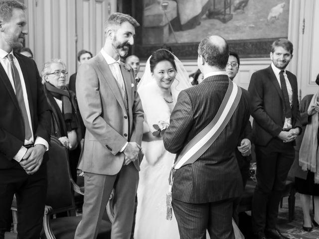 Le mariage de Thomas et Yifei à Paris, Paris 7