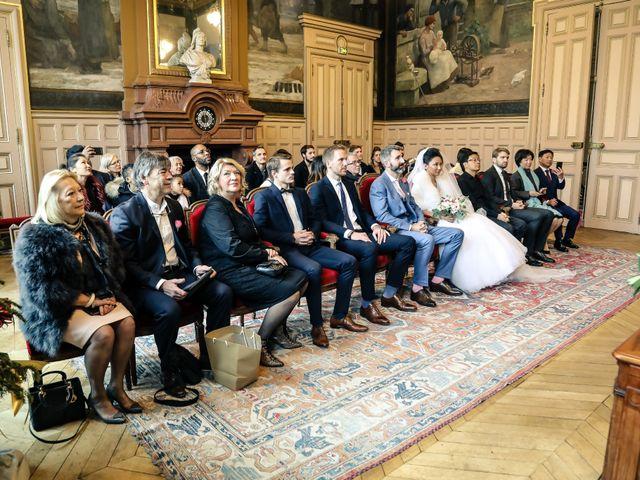 Le mariage de Thomas et Yifei à Paris, Paris 9