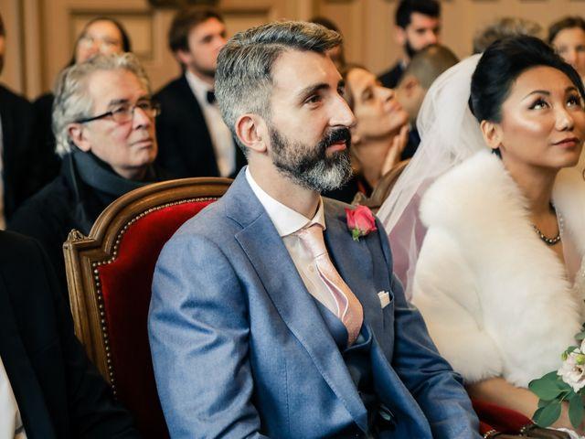 Le mariage de Thomas et Yifei à Paris, Paris 10