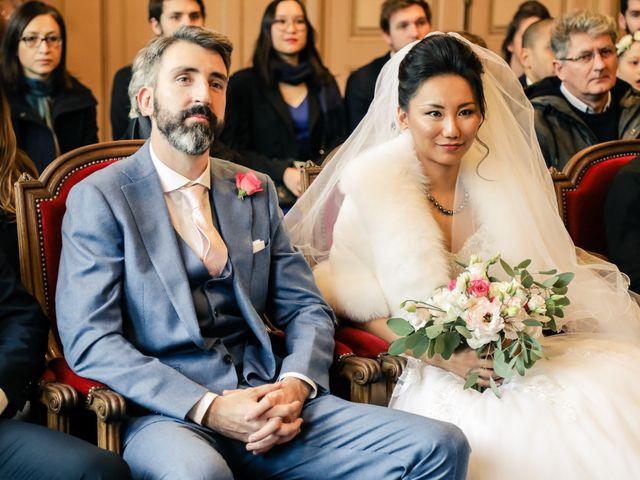 Le mariage de Thomas et Yifei à Paris, Paris 17