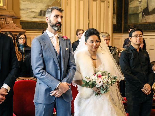 Le mariage de Thomas et Yifei à Paris, Paris 18