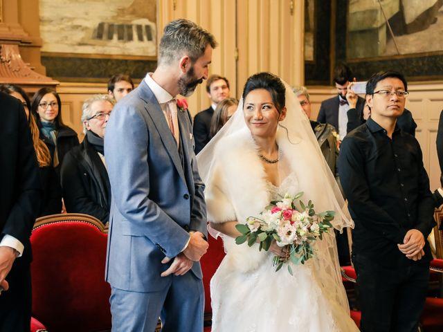Le mariage de Thomas et Yifei à Paris, Paris 20