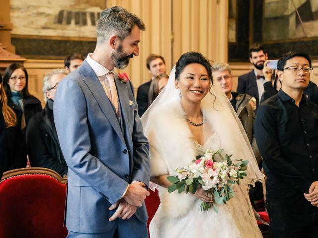 Le mariage de Thomas et Yifei à Paris, Paris 21