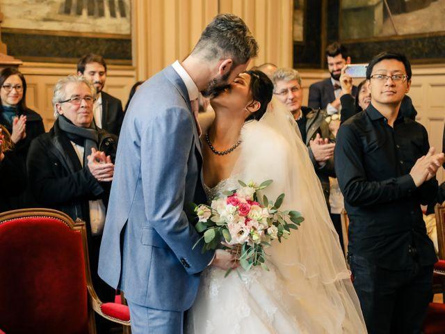 Le mariage de Thomas et Yifei à Paris, Paris 22