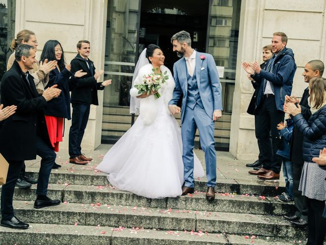 Le mariage de Thomas et Yifei à Paris, Paris 34