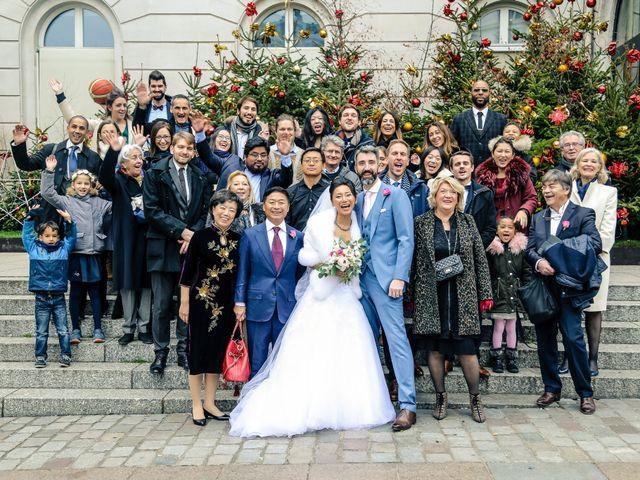 Le mariage de Thomas et Yifei à Paris, Paris 35
