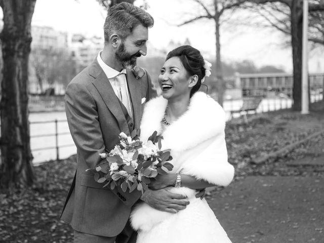 Le mariage de Thomas et Yifei à Paris, Paris 44
