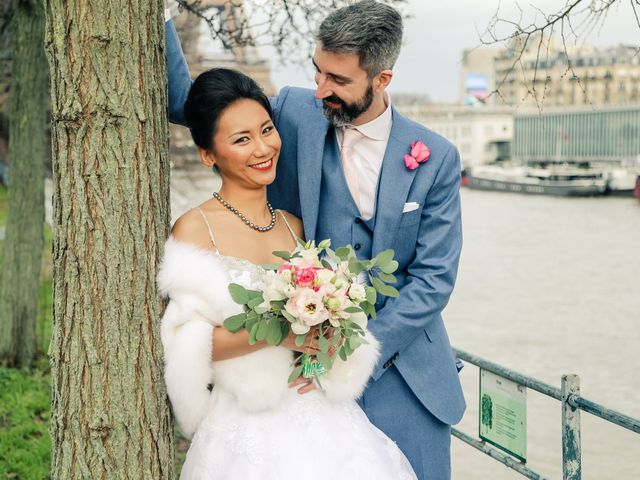 Le mariage de Thomas et Yifei à Paris, Paris 47