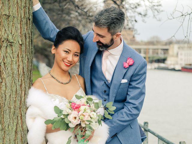 Le mariage de Thomas et Yifei à Paris, Paris 48