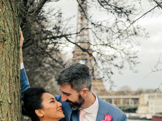 Le mariage de Thomas et Yifei à Paris, Paris 49
