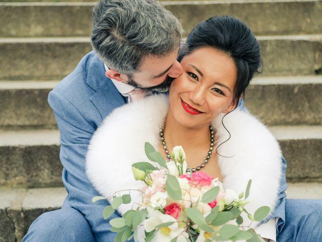 Le mariage de Thomas et Yifei à Paris, Paris 55