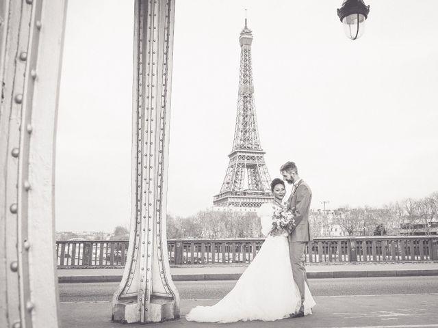 Le mariage de Thomas et Yifei à Paris, Paris 58