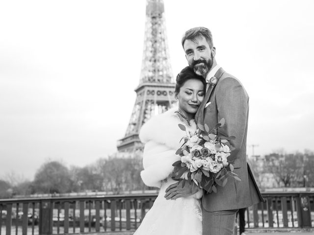 Le mariage de Thomas et Yifei à Paris, Paris 59