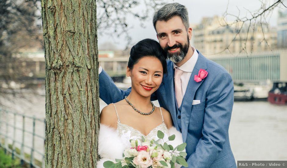 Le mariage de Thomas et Yifei à Paris, Paris