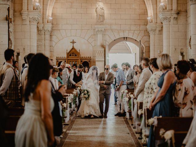 Le mariage de Joffrey et Margot à Saint-Émilion, Gironde 9