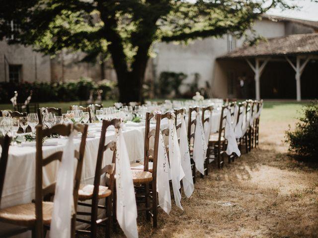 Le mariage de Joffrey et Margot à Saint-Émilion, Gironde 16