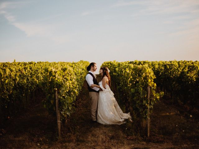 Le mariage de Joffrey et Margot à Saint-Émilion, Gironde 1