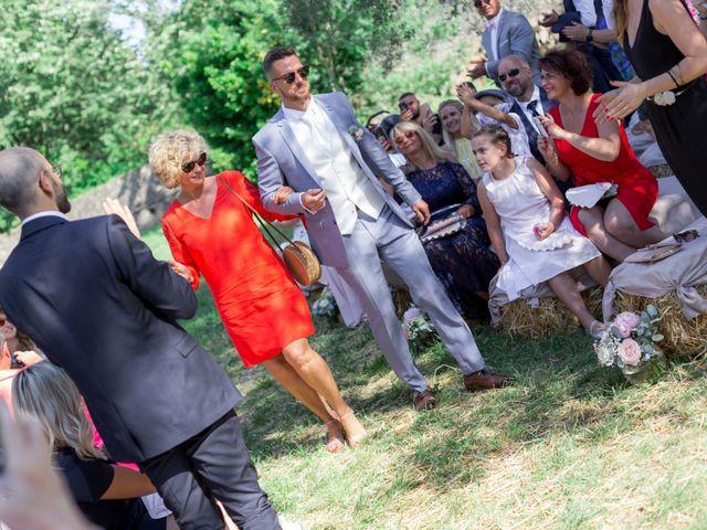 Le mariage de Florian et Doreen à Opio, Alpes-Maritimes 42