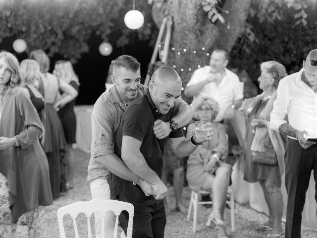 Le mariage de Florian et Doreen à Opio, Alpes-Maritimes 57