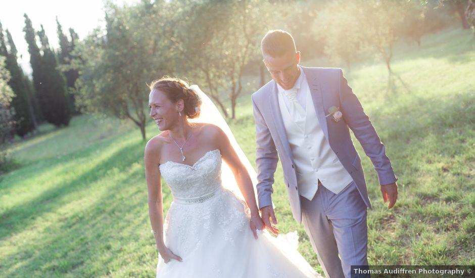 Le mariage de Florian et Doreen à Opio, Alpes-Maritimes