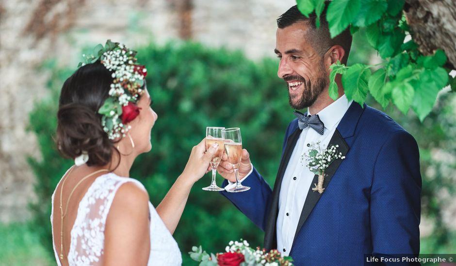 Le mariage de Jeremy et Laetitia à Épinouze, Drôme