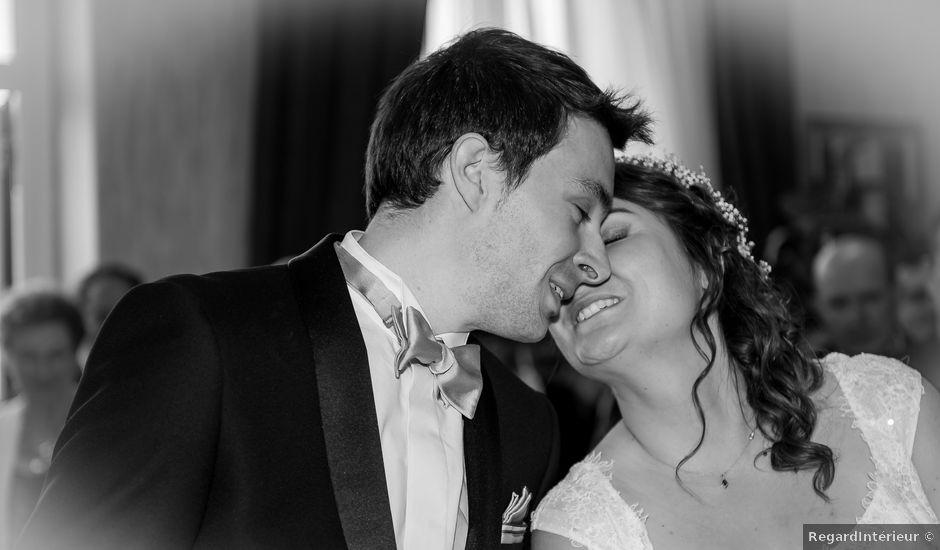 Le mariage de Nicolas et Caroline à Saint-Martin-la-Rivière, Vienne