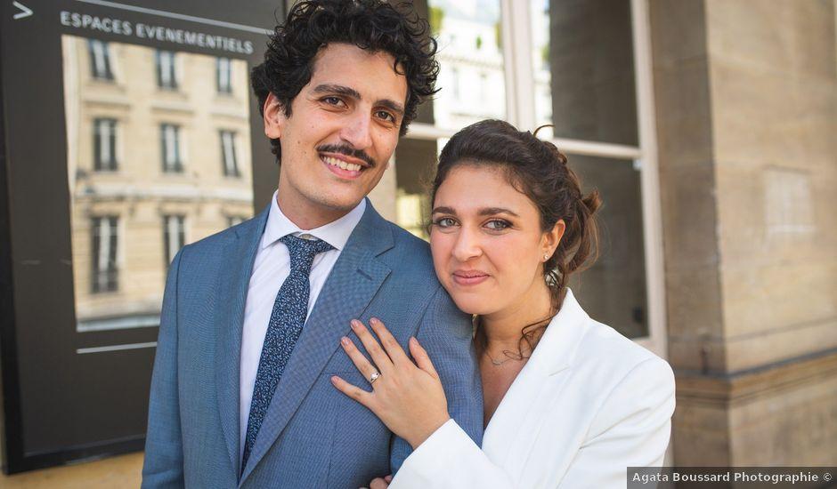 Le mariage de Charly et Arielle à Paris, Paris