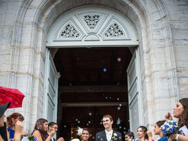 Le mariage de Michaël et Ruby à Chamblay, Jura 21