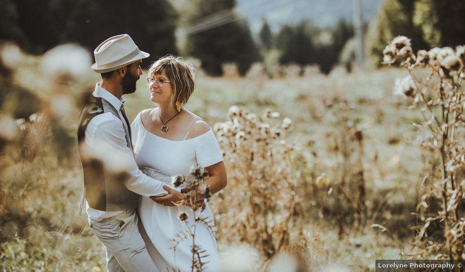 Le mariage de Cyril et Emilie à Saint-Pierre-de-Chartreuse, Isère