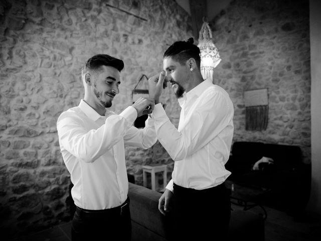 Le mariage de Erwan et Kim à Lussan, Gard 25