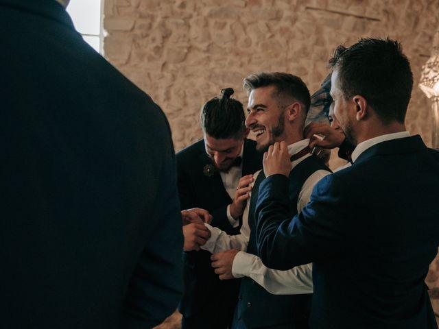 Le mariage de Erwan et Kim à Lussan, Gard 27