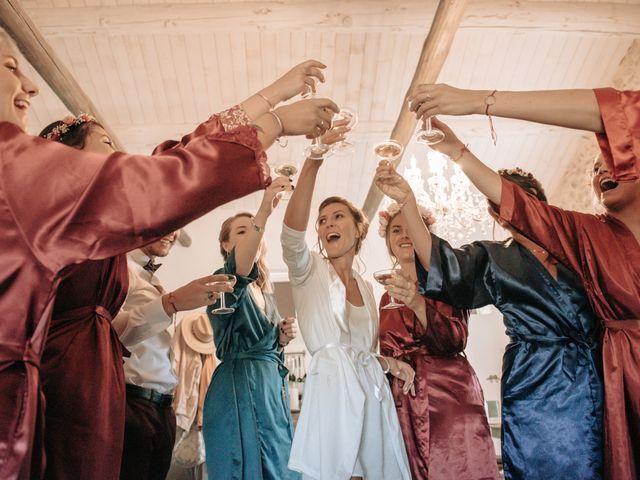 Le mariage de Erwan et Kim à Lussan, Gard 32