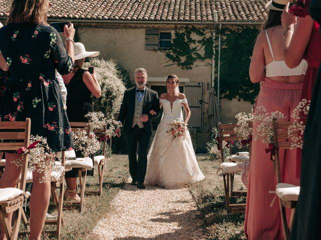 Le mariage de Erwan et Kim à Lussan, Gard 41