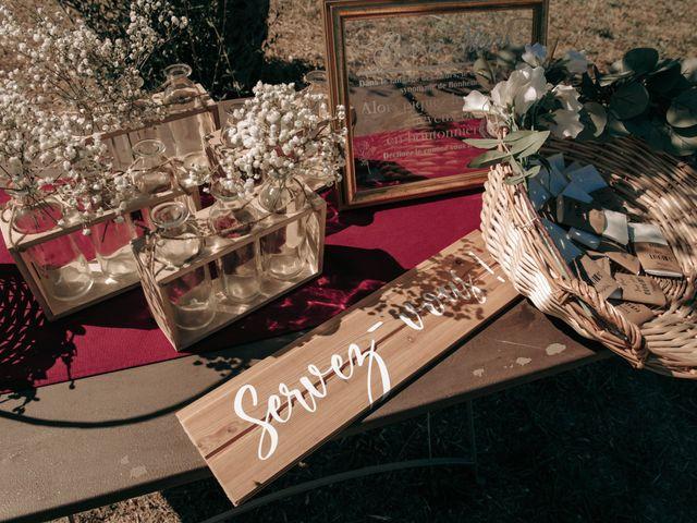 Le mariage de Erwan et Kim à Lussan, Gard 42