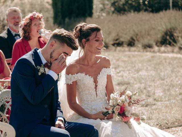 Le mariage de Erwan et Kim à Lussan, Gard 44