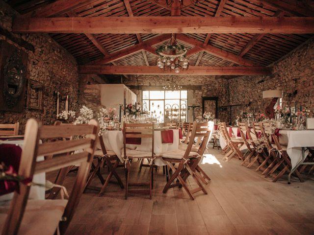 Le mariage de Erwan et Kim à Lussan, Gard 70