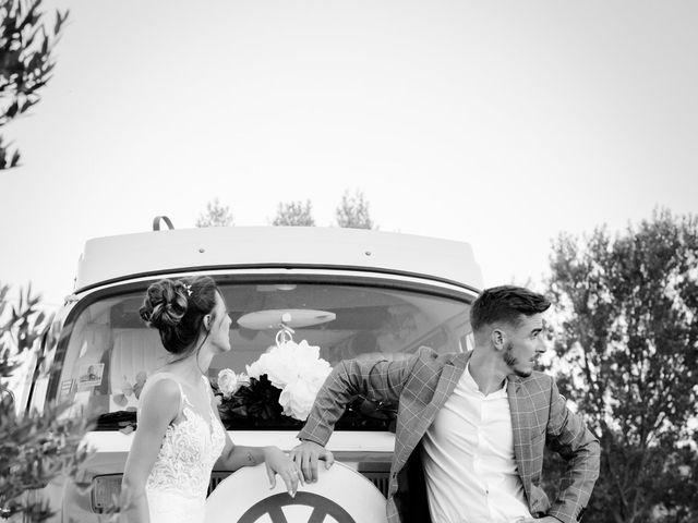 Le mariage de Erwan et Kim à Lussan, Gard 88